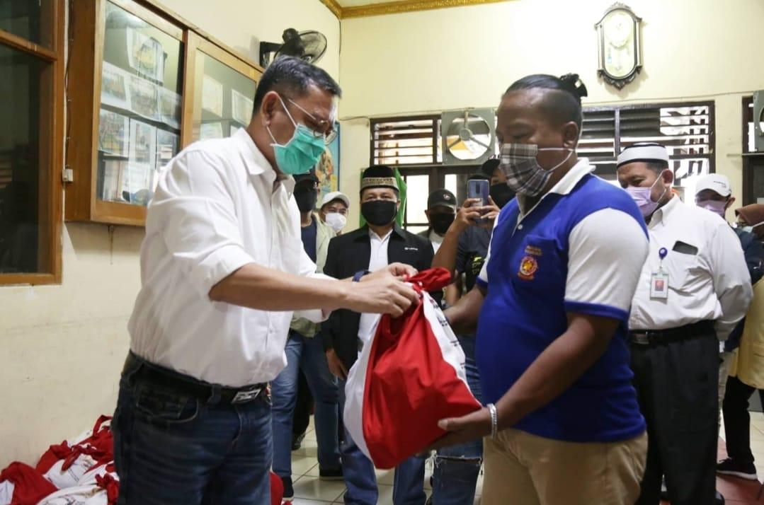 Kemensos Pastikan 674 Paket Sembako di Kelurahan Pademangan Terdistribusi