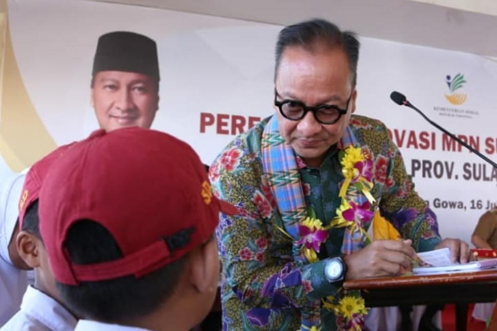 Kemensos Salurkan Bantuan Korban Gempa Halmahera Selatan
