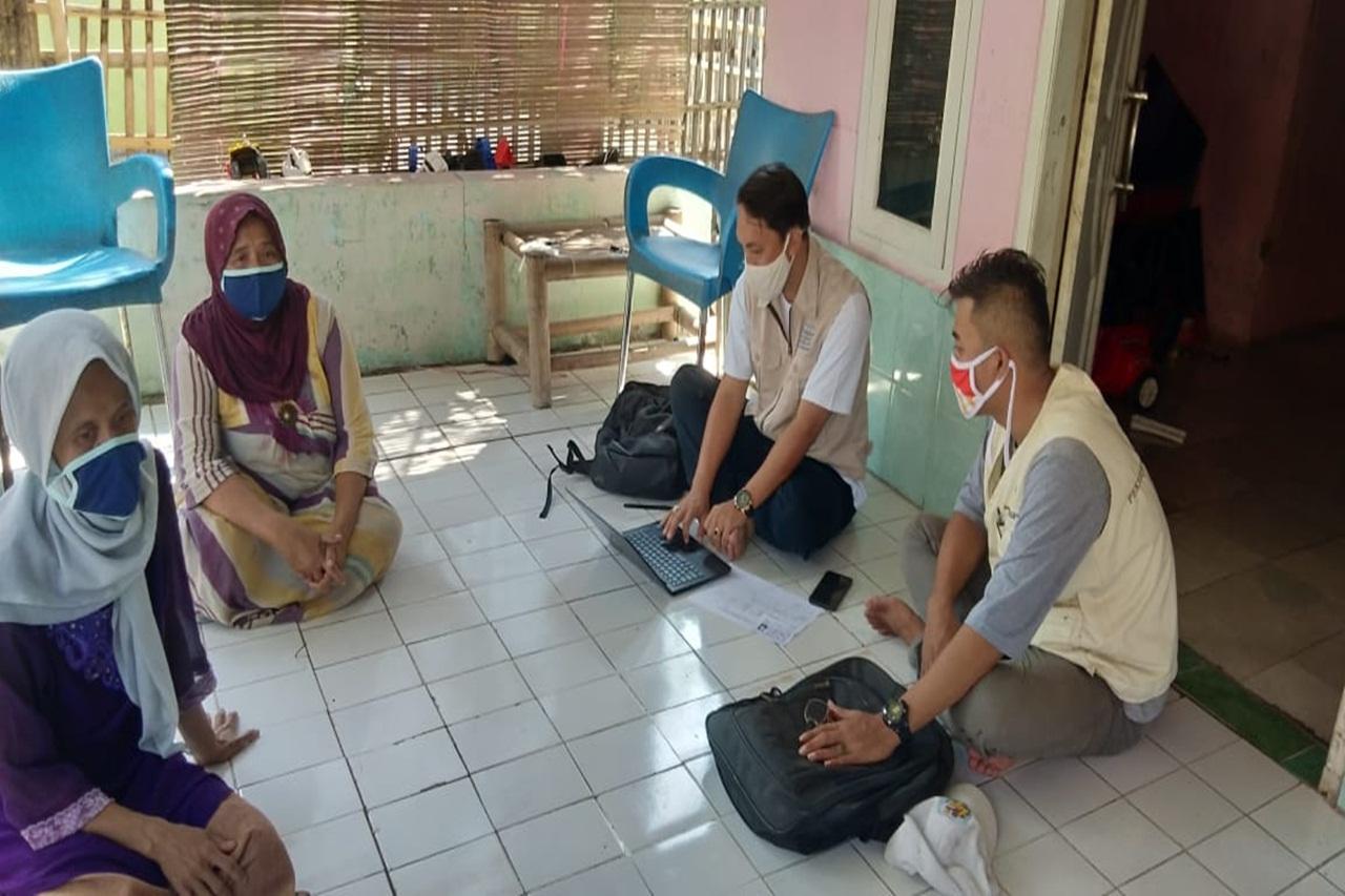 Pendamping PKH Kabupaten Tangerang Lakukan Verifikasi Data KPM Baru