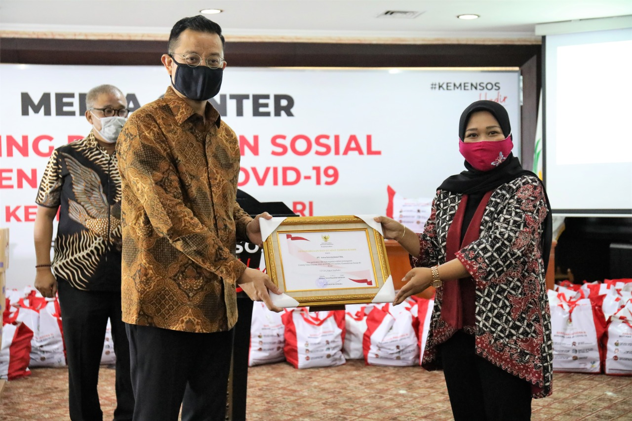 Kemensos Siap Salurkan Bantuan Sosial dari PT. Astra International