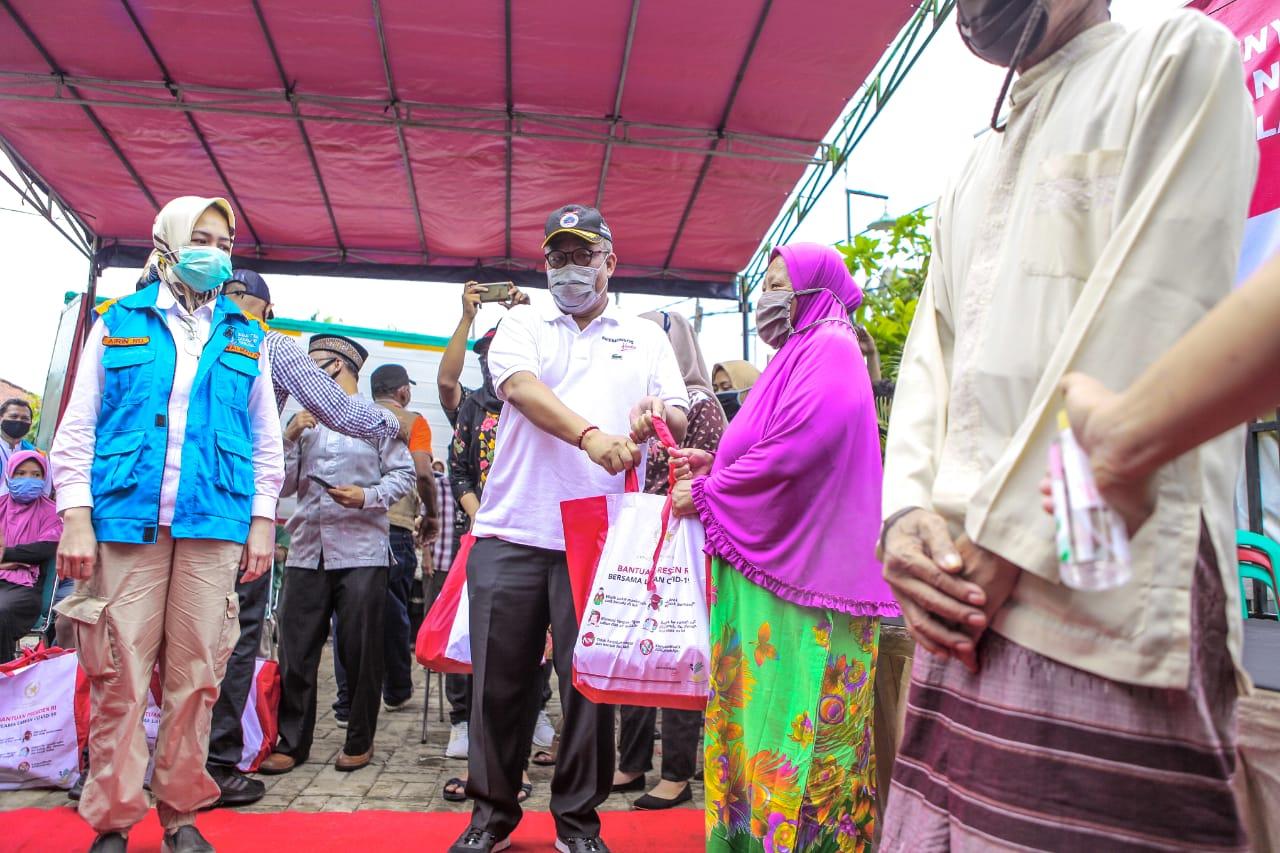 Kemensos Distribusikan Bantuan Sosial di Wilayah Tangerang Selatan