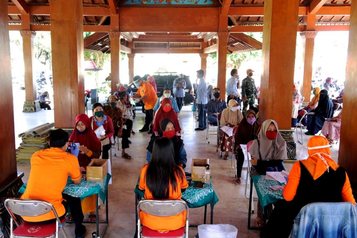Pembagian Bansos di Yogyakarta Semakin Tertib