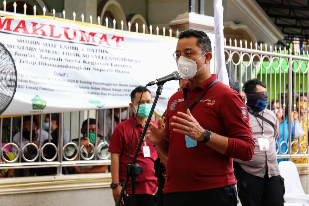 Mensos Sampaikan Salam dari Presiden kepada Warga Tanjung Priok