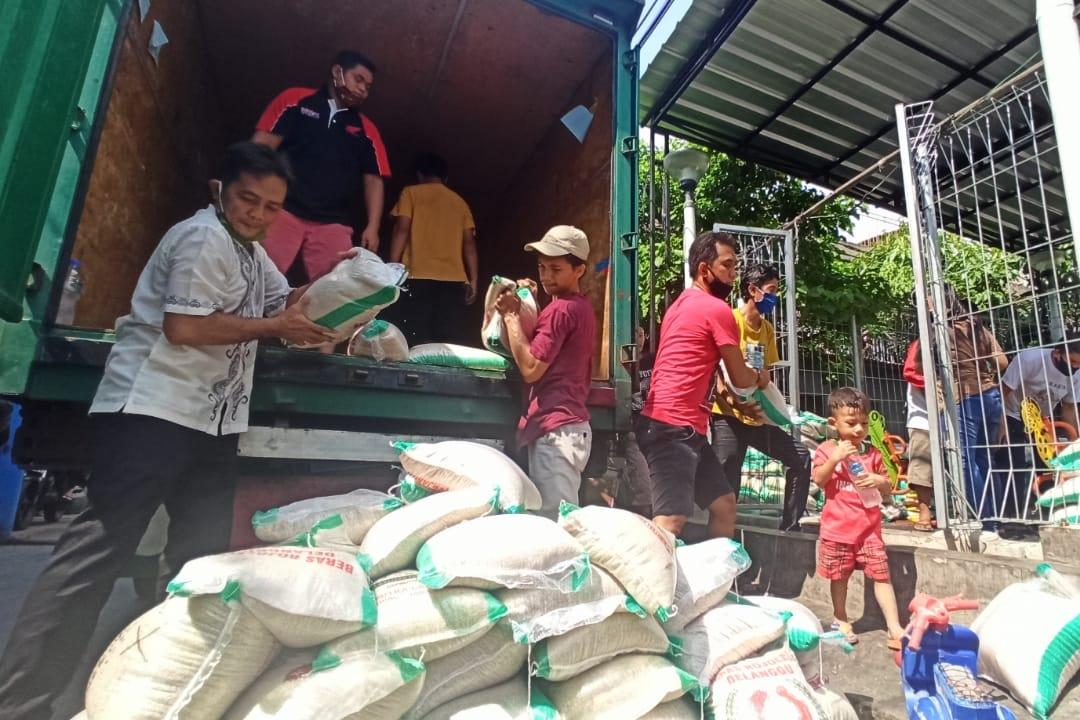 Kunjungi Sejumlah Titik Distribusi Sembako, Dirjen Linjamsos Kebut Penyaluran Tahap 3