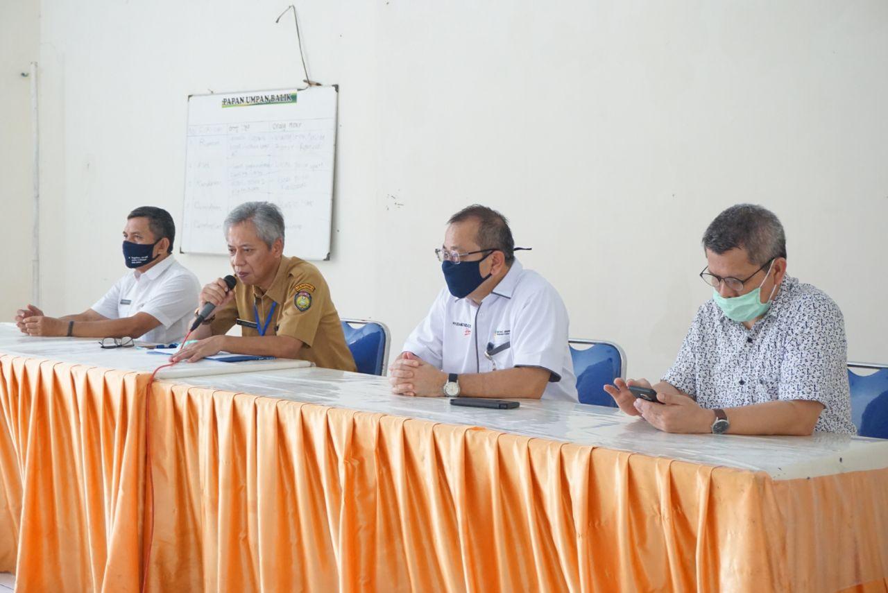 Monitoring dan Supervisi Percepatan Penyaluran BST di Indramayu