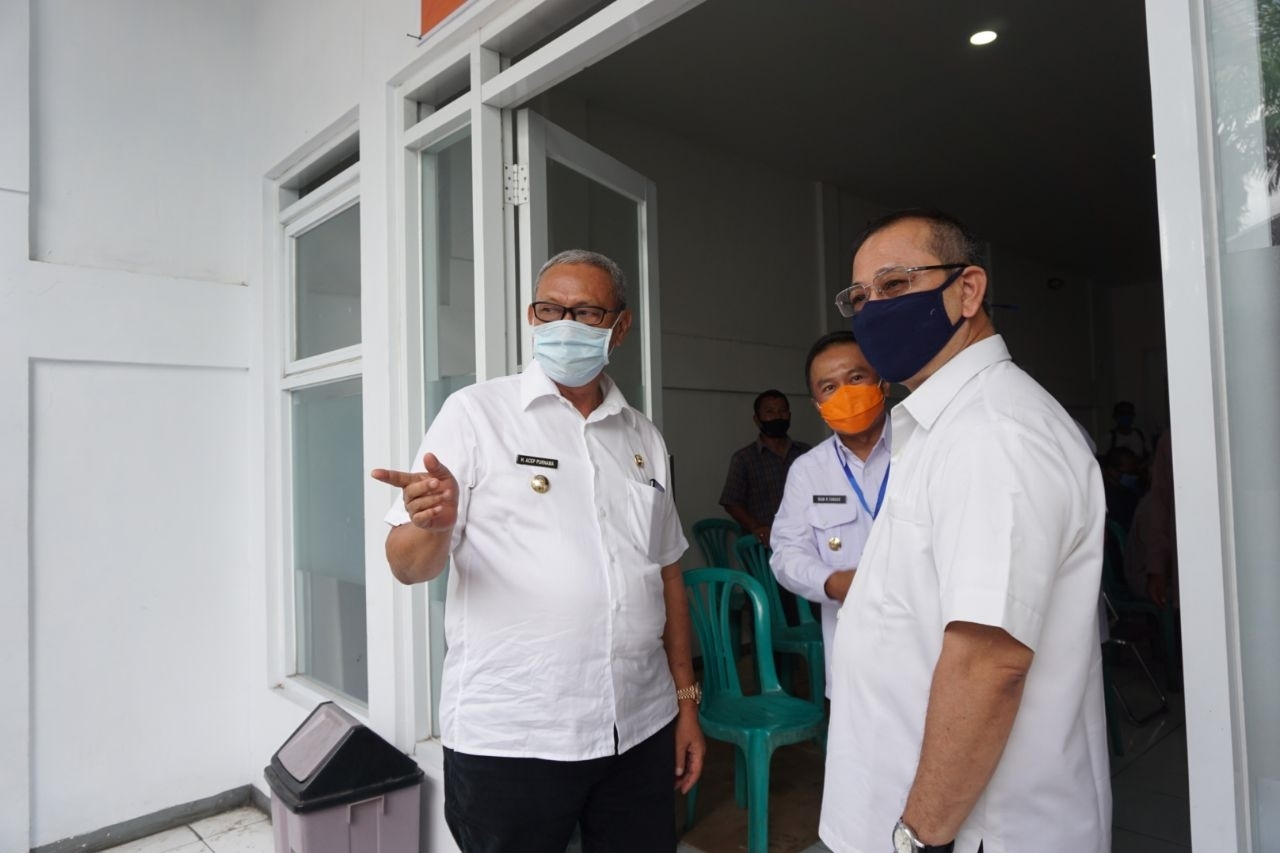Cash Social Assistance Distribution Coordination at the Kuningan Post Office