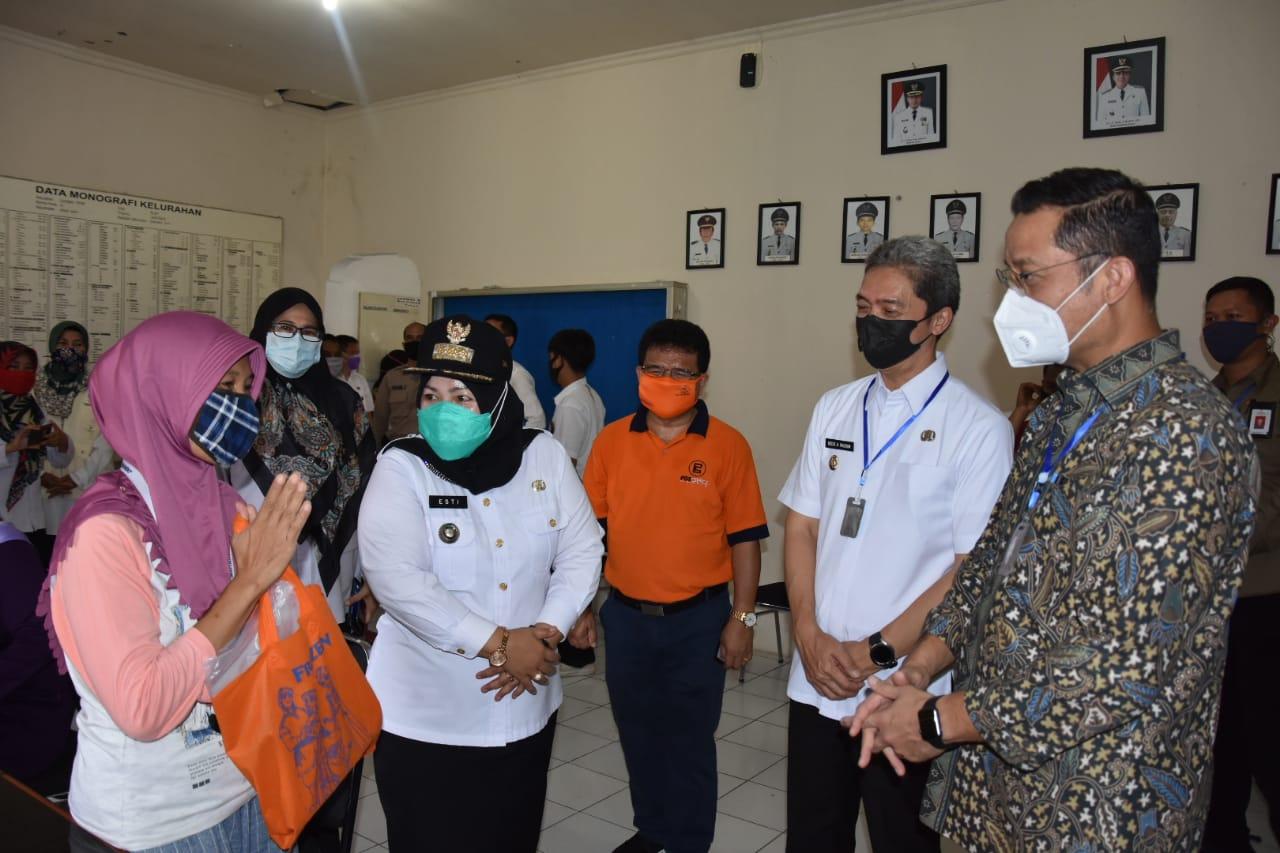 Mensos Terus Dorong Percepatan Penyaluran BST dan Program Sembako
