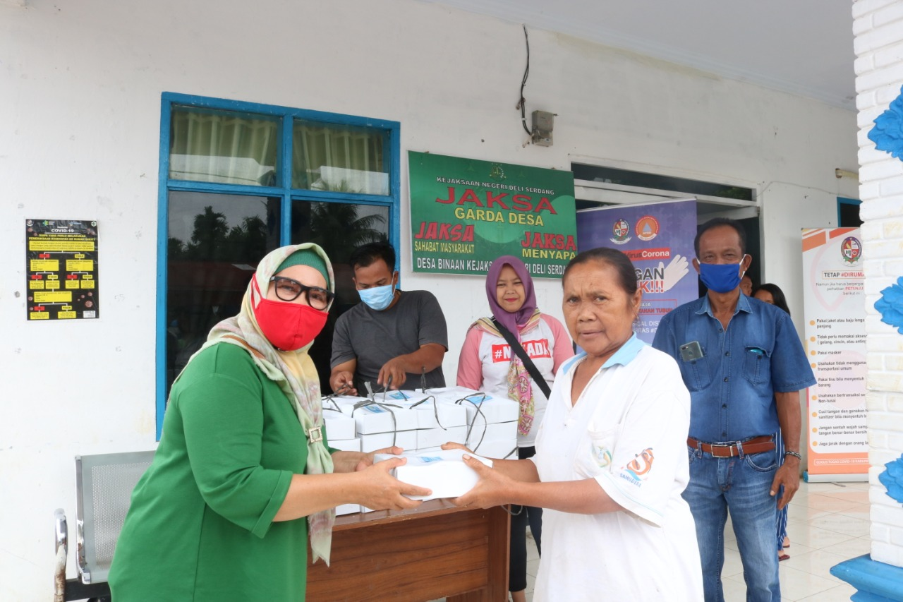 Warga Namo Bintang Dapat Bantuan Dapur Umum Balai Bahagia Tahap II