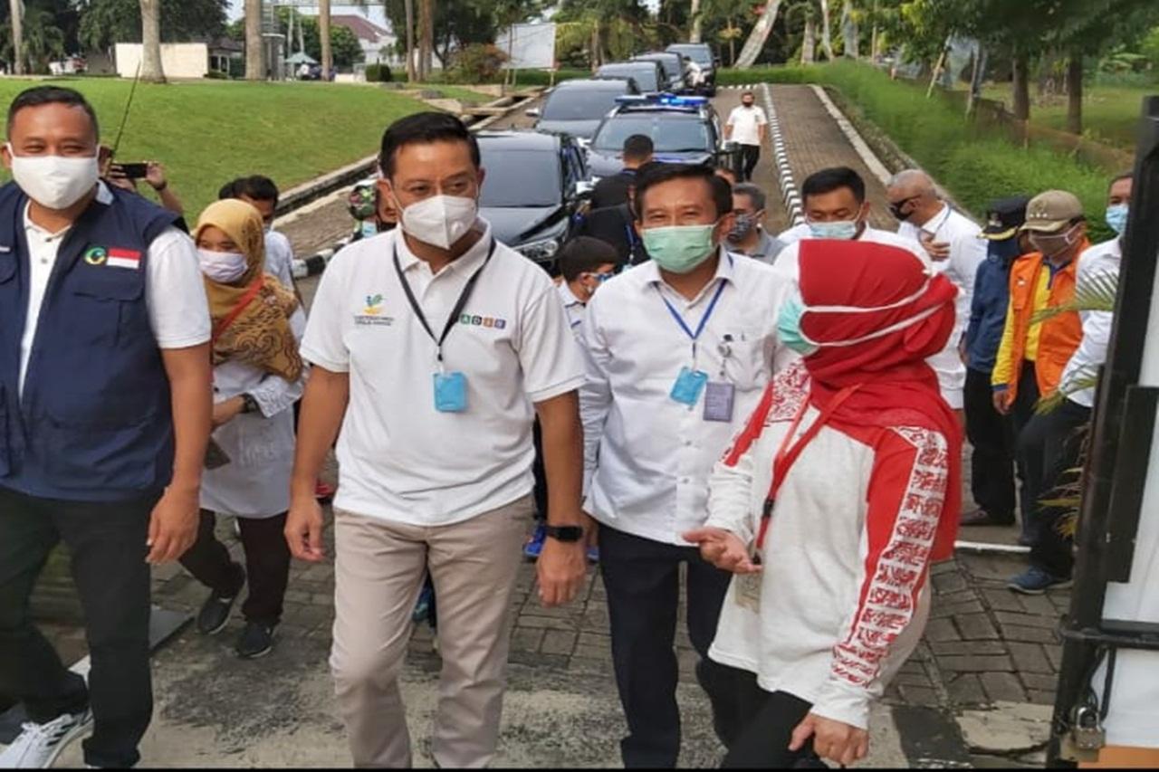 """Mensos  Kunjungi Penerima Pelayanan di TPS Balai Netra """"Tan Miyat"""""""