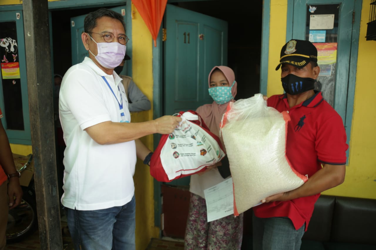 Director General of Protection and Social Security Ensures the Quality of Grocery Distributed