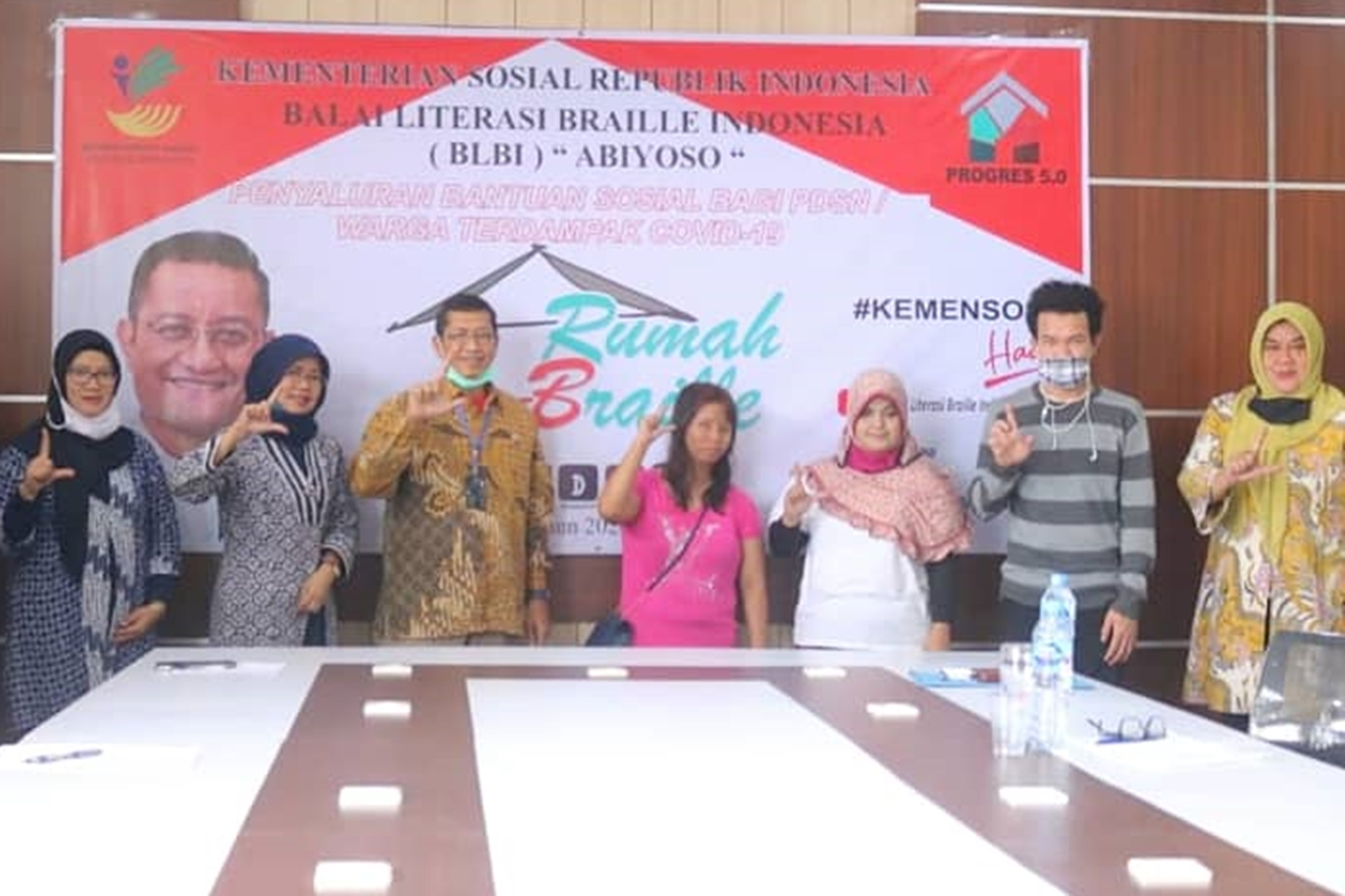 "BLBI ""Abiyoso"" Bersinergi dengan Dinas Sosial Provinsi Jawa Barat"