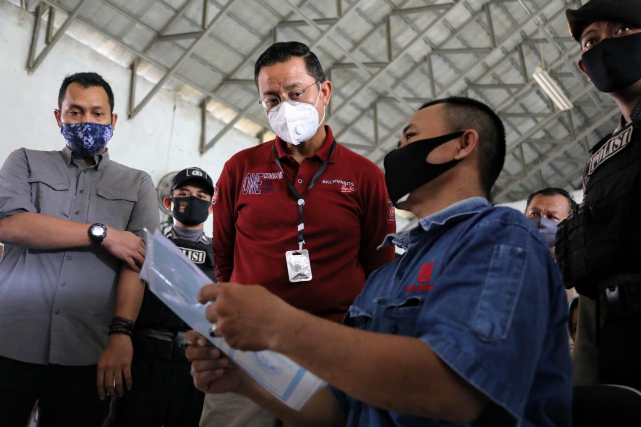 Mensos Sebut Tahap 1 Penyaluran BST di Banten Sudah 100%
