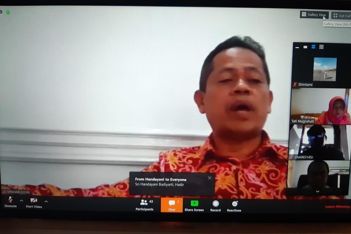 Kepala BP3S Berikan Arahan kepada Asesor Ukom Jalur Pendidikan