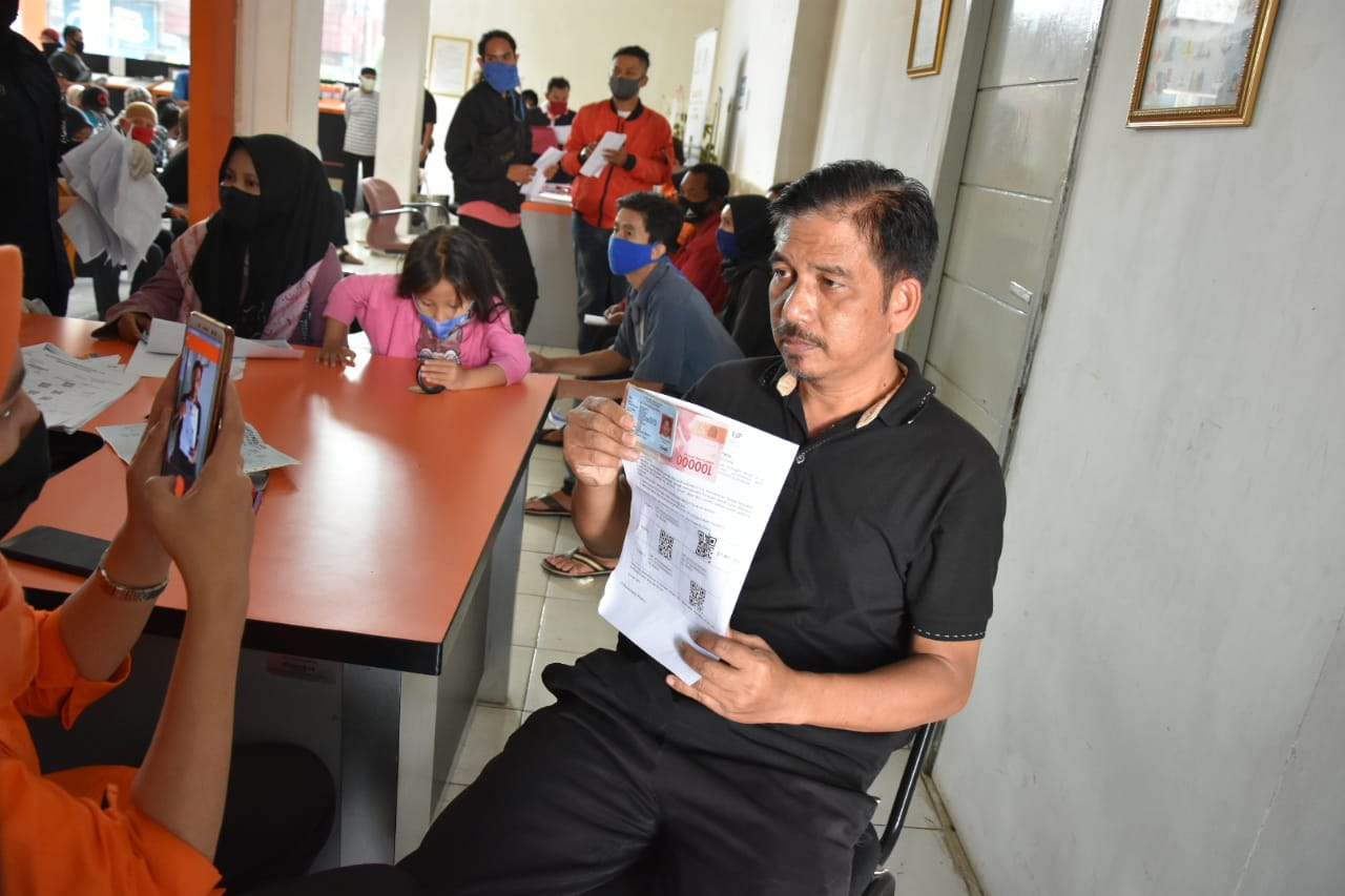 Dirjen PFM Evaluasi Penyaluran BST di Kantor Pos Sukabumi