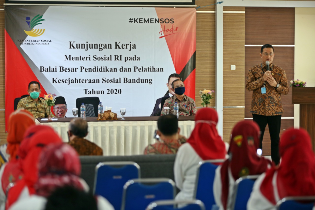 Work Visit to West Java, Social Minister Wants BP3S to Conduct Study Overcoming Weaknesses