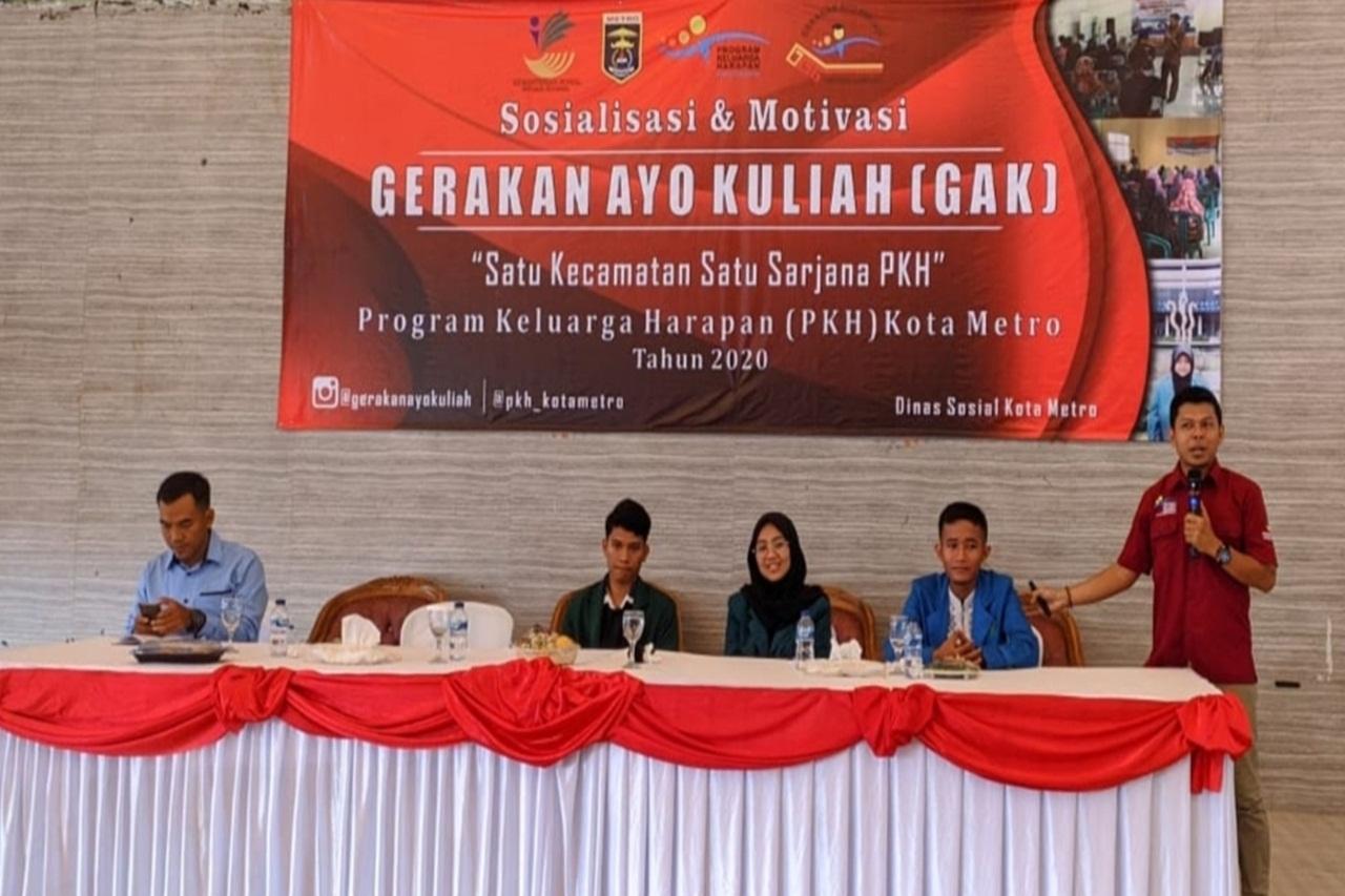 Lagi, 58 Anak PKH Lampung Diterima PTN/PTKIN