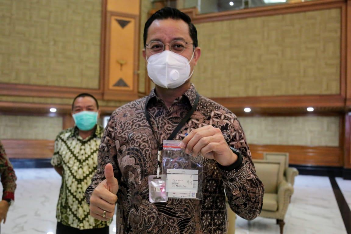 Tes Cepat COVID-19 di Lingkungan Kementerian Sosial