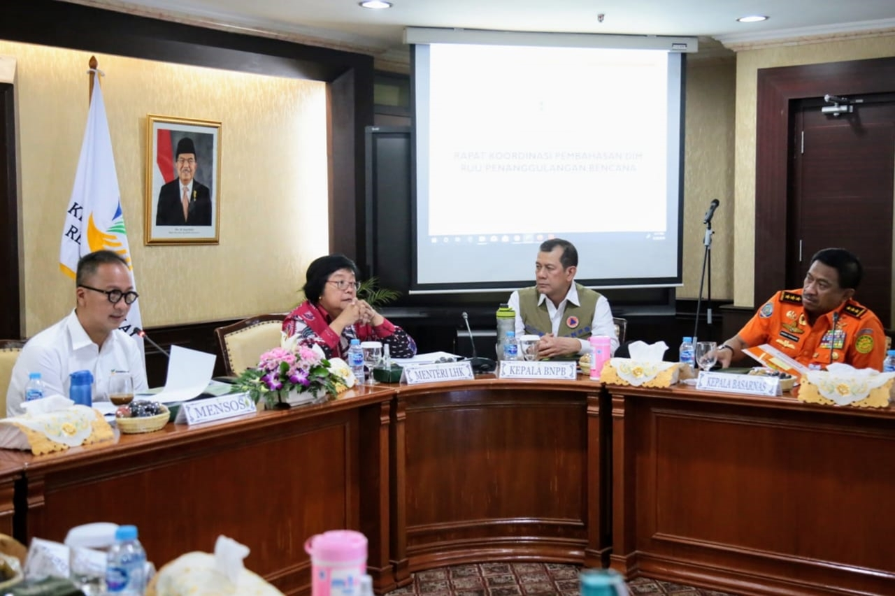 Kemensos Menjadi Koordinator Pembahasan DIM RUU Penanggulangan Bencana