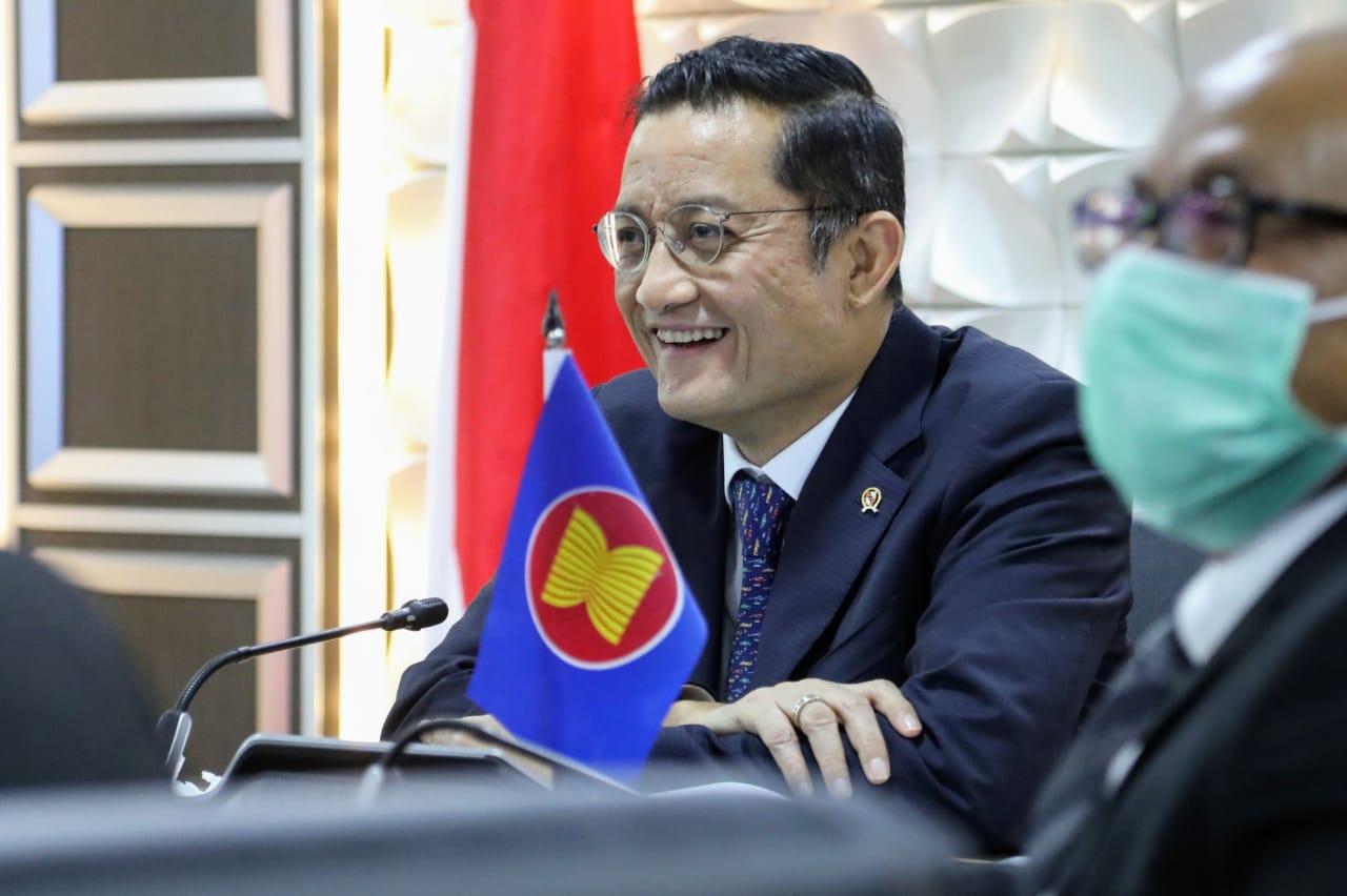 Mensos Hadiri Rapat Daring Pertemuan Menteri ASEAN