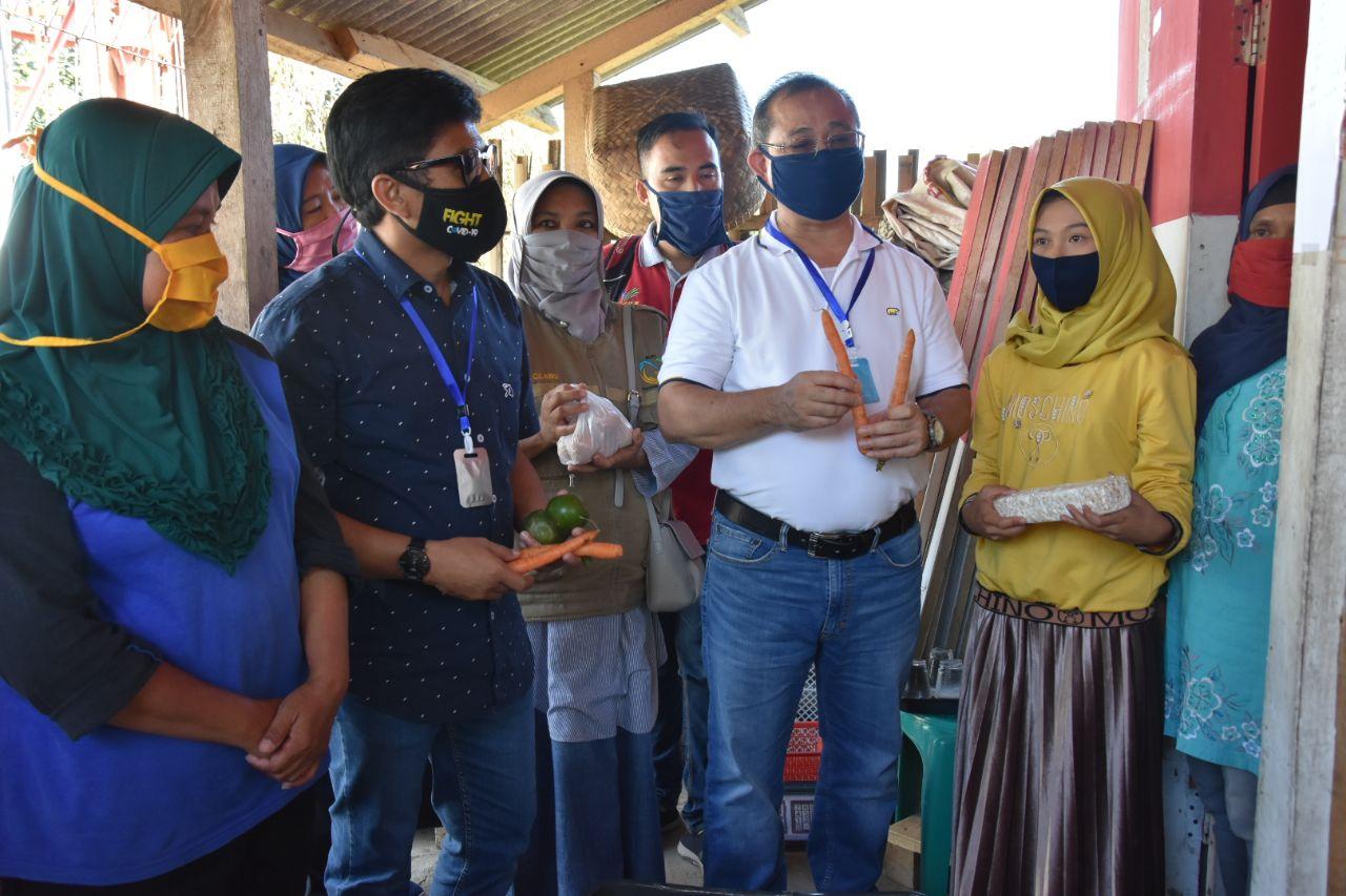 Dirjen PFM Tinjau BST dan E-Warong KUBE di Kabupaten Garut