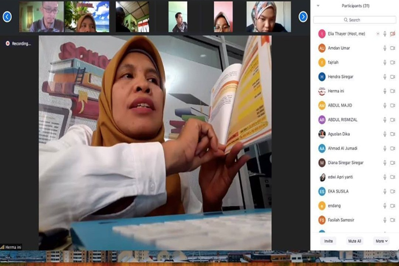BBPPKS Sumatera Selenggarakan Diklat P2K2 / FDS PKH E-Learning