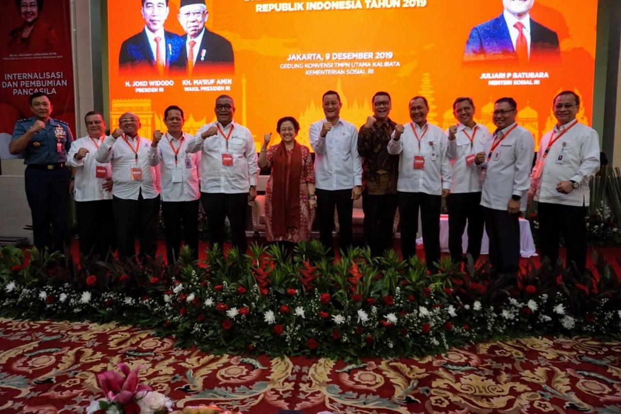 Menteri Sosial Hadiri Kegiatan Penguatan Wawasan Kebangsaan di Lingkungan Kementerian Sosial