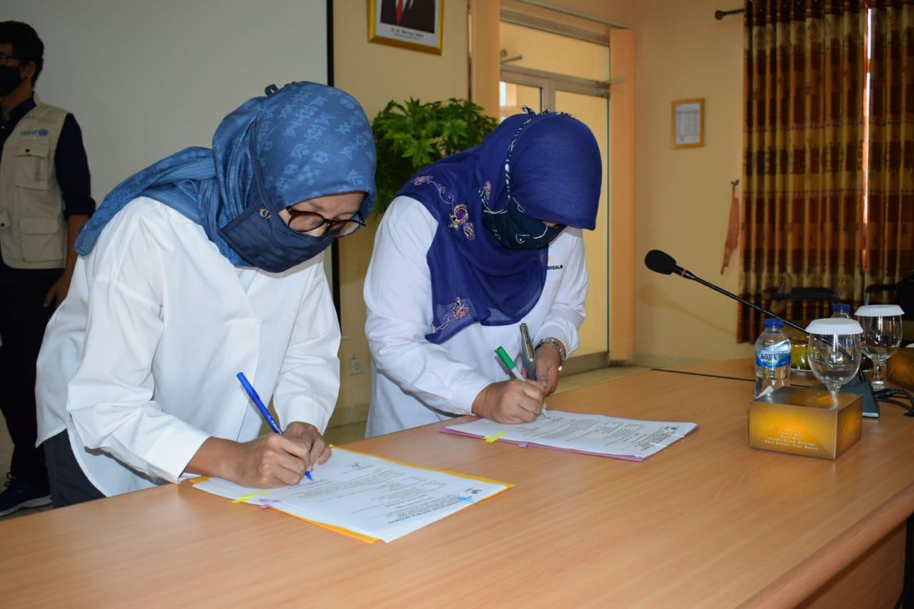 UNICEF dan Kementerian Sosial Salurkan Recreational Kit Kepada LKSA