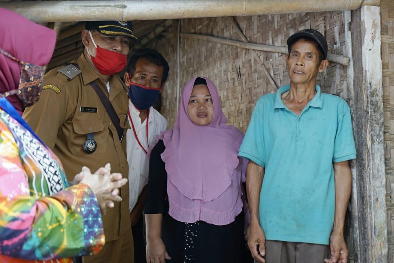 Pak Bisri, KPM BST yang Dikunjungi Mensos, Menko PMK dan Ketua DPR RI