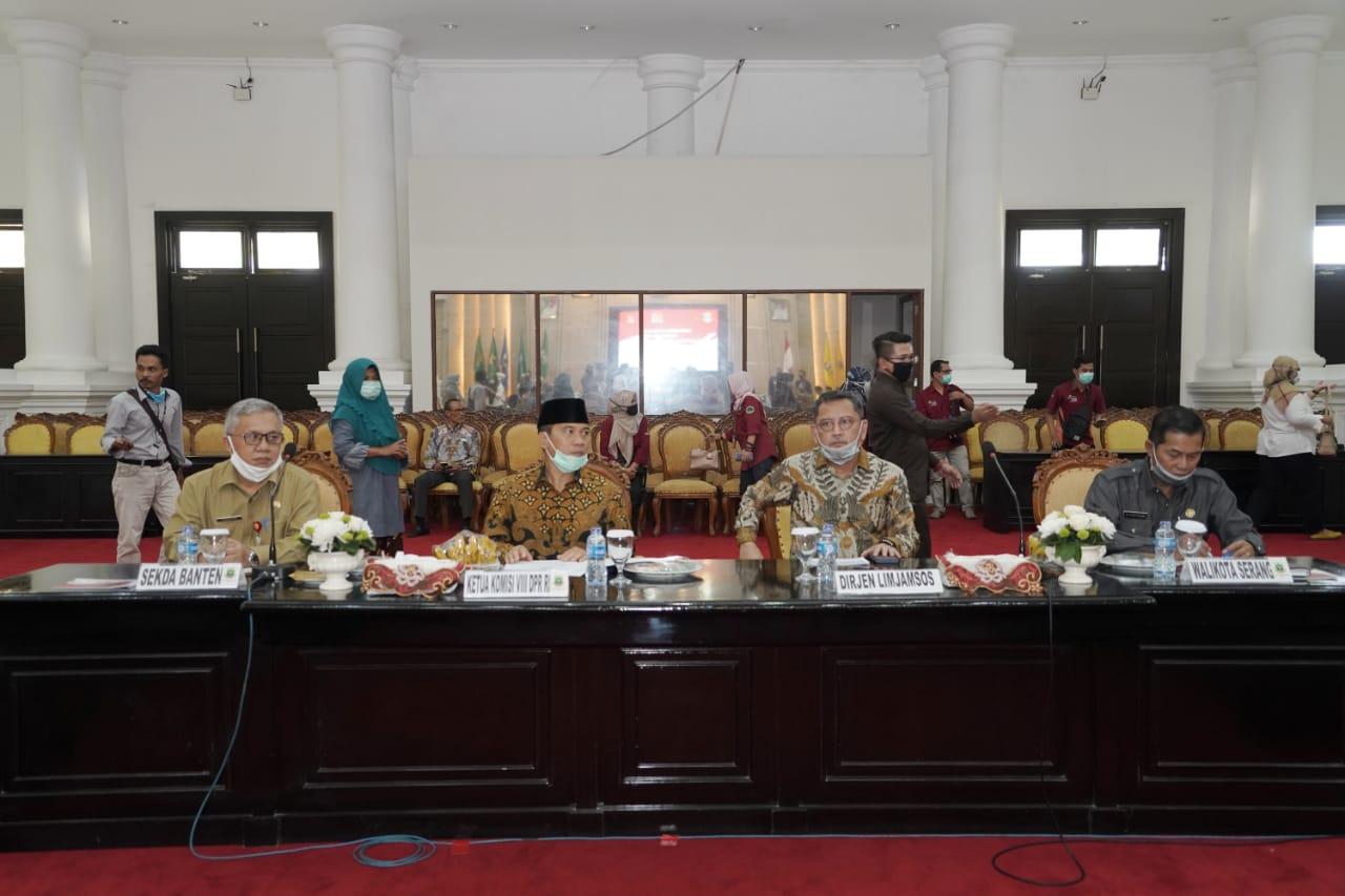 Evaluasi Penyaluran Bansos, Komisi VIII DPR RI Kunjungi Provinsi Banten