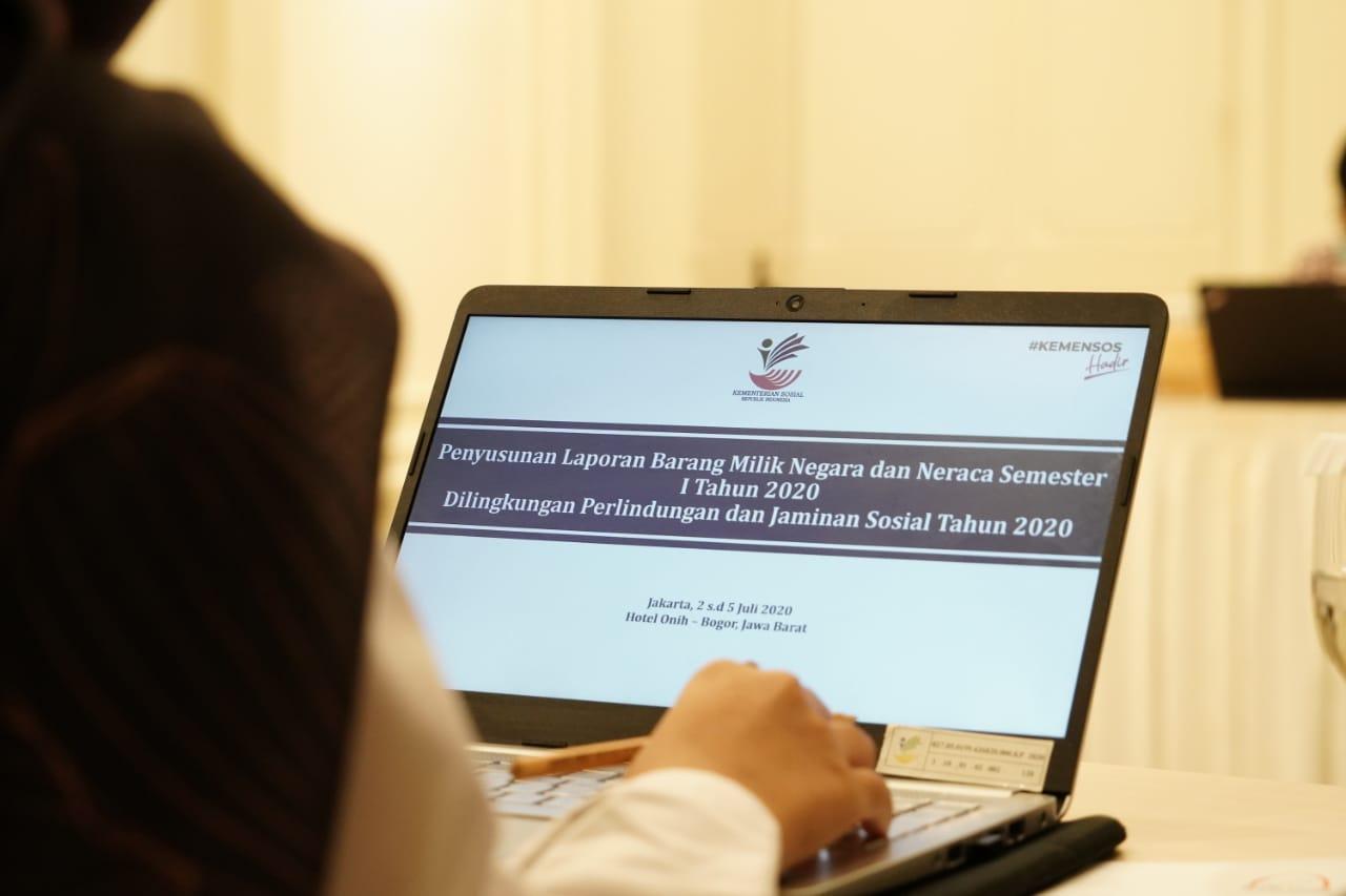 Penyusunan Laporan BMN Untuk Disiplinkan Petugas
