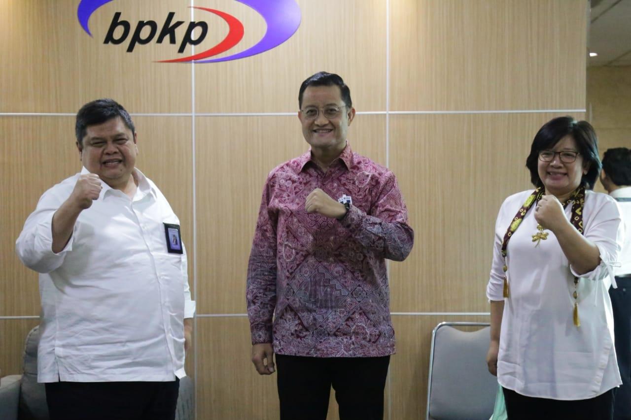 Social Minister's Visit to BPKP