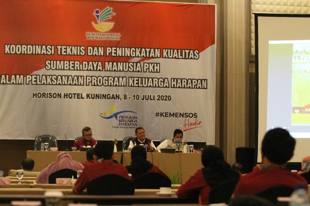 224 SDM PKH Ikuti Rakor Teknis dan Peningkatan Kualitas di Kuningan