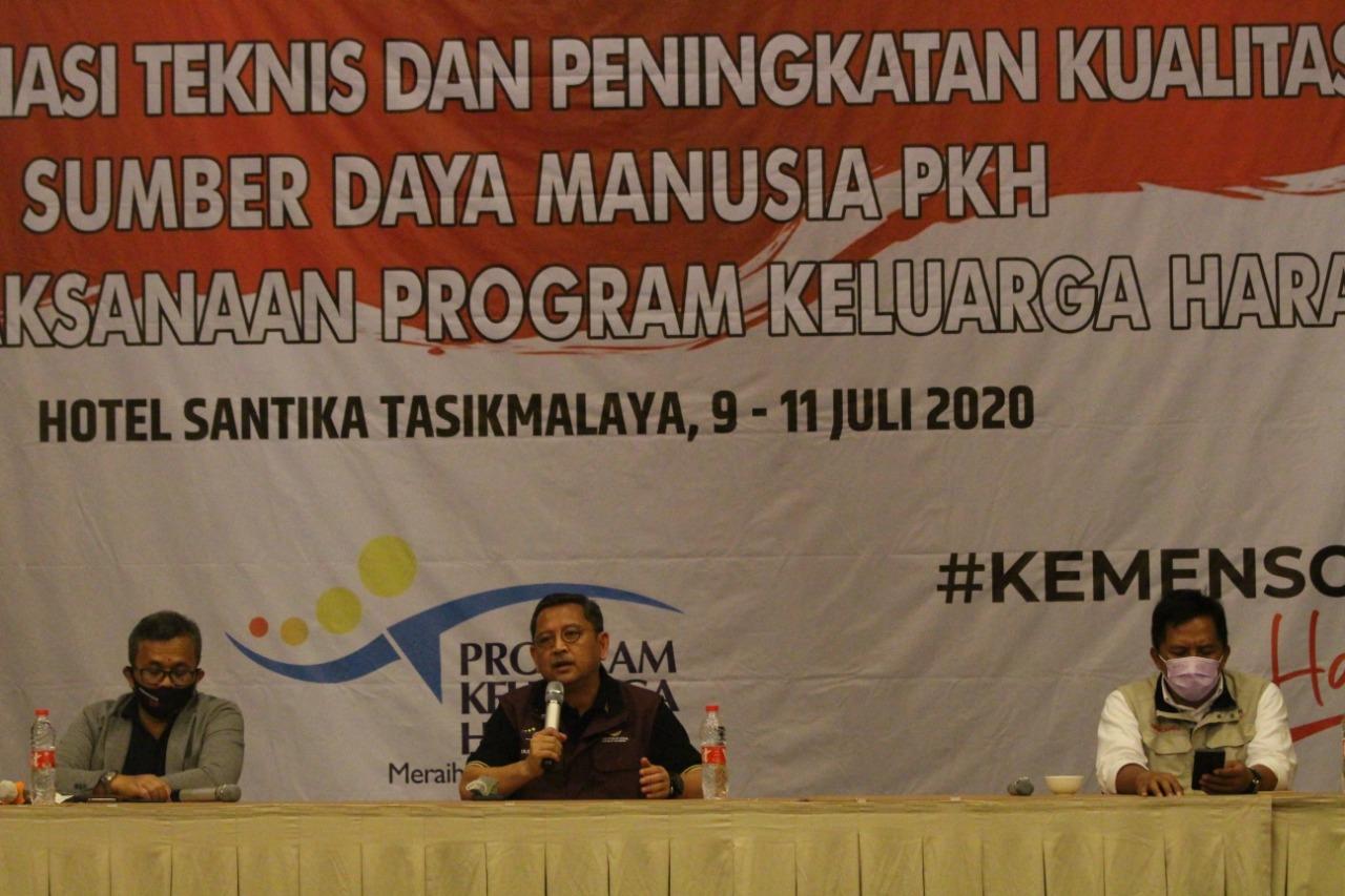 Tasikmalaya Jadi Tuan Rumah Pelaksanaan Peningkatan Kualitas SDM PKH Berikutnya