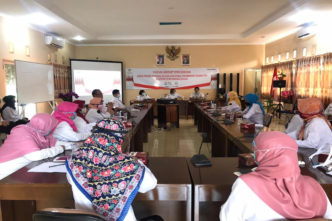 "BRSPDI ""Ciungwanara"" Participated in FGD with the Director of RSPD"