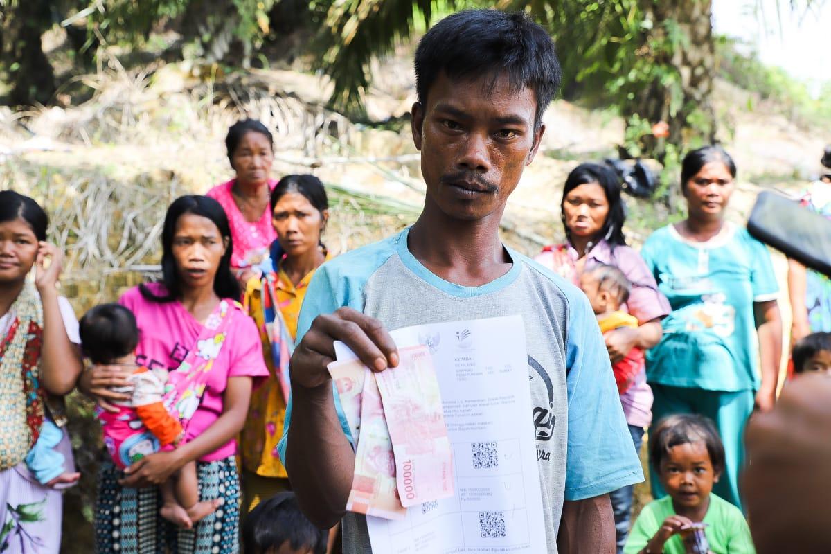 Mensos Permudah Bansos Tunai Di Wilayah Terpencil dan Sulit Dijangkau