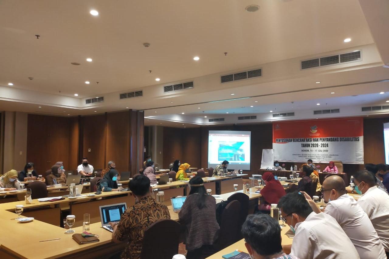 Kemensos Inisiasi RAN Hak Penyandang Disabilitas Masuk RAN HAM Nasional 2020-2024