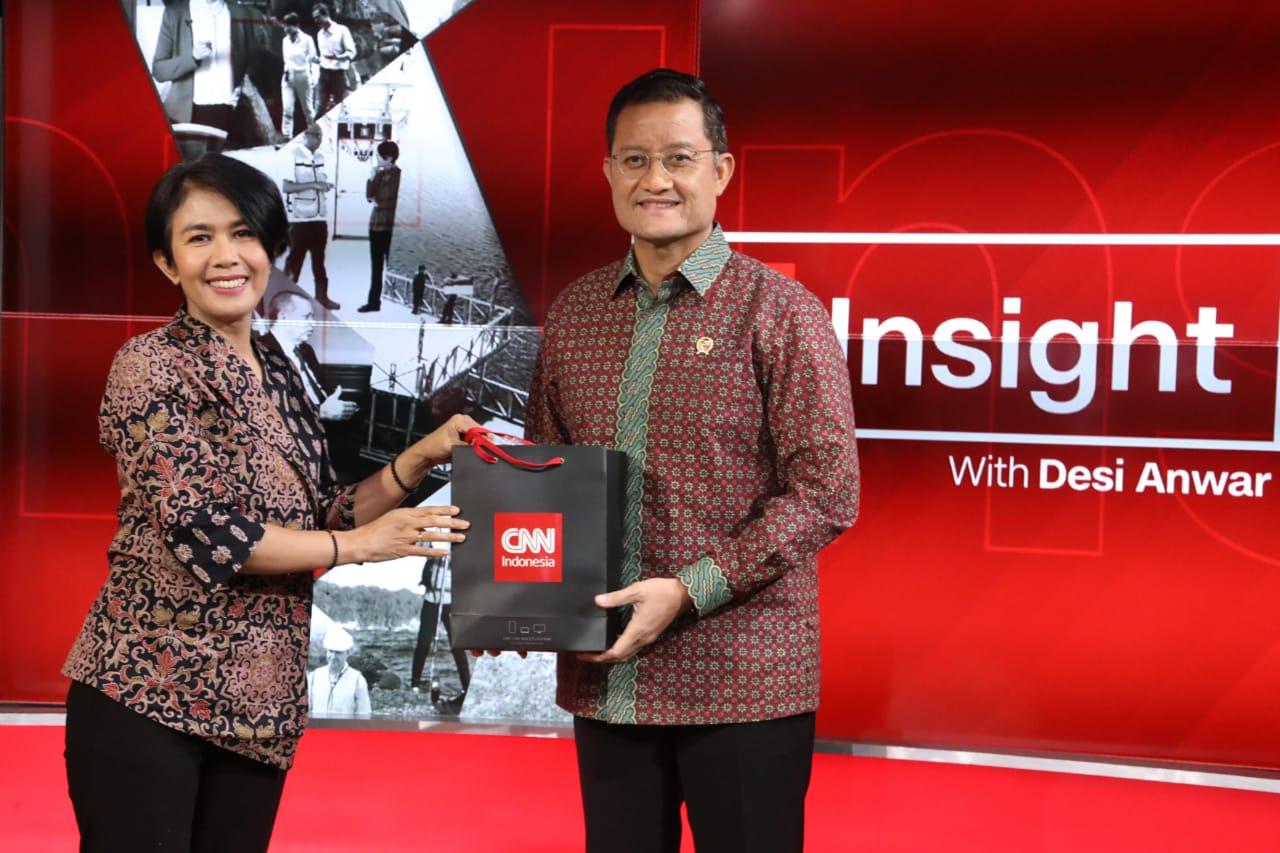 Wawancara Mensos dan Desi Anwar di CNN Indonesia