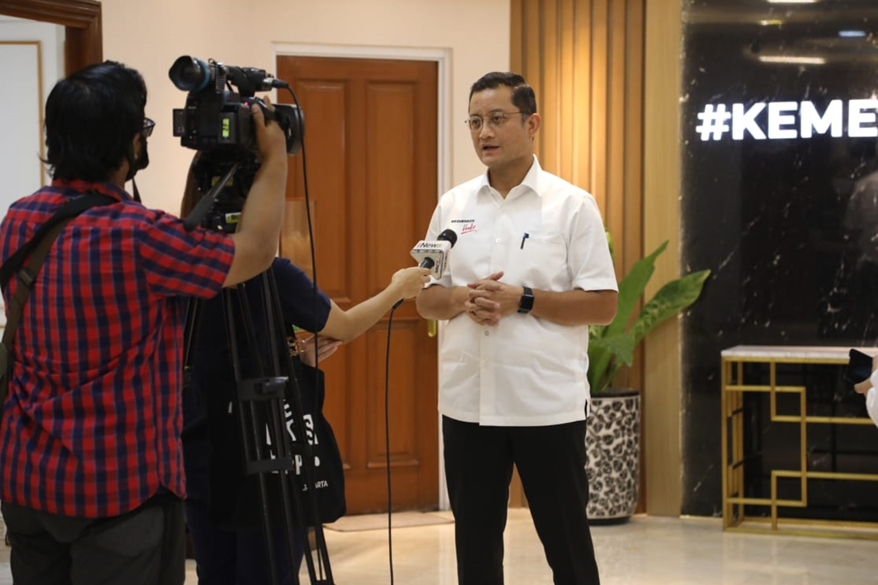 Wawancara Mensos dan iNews TV