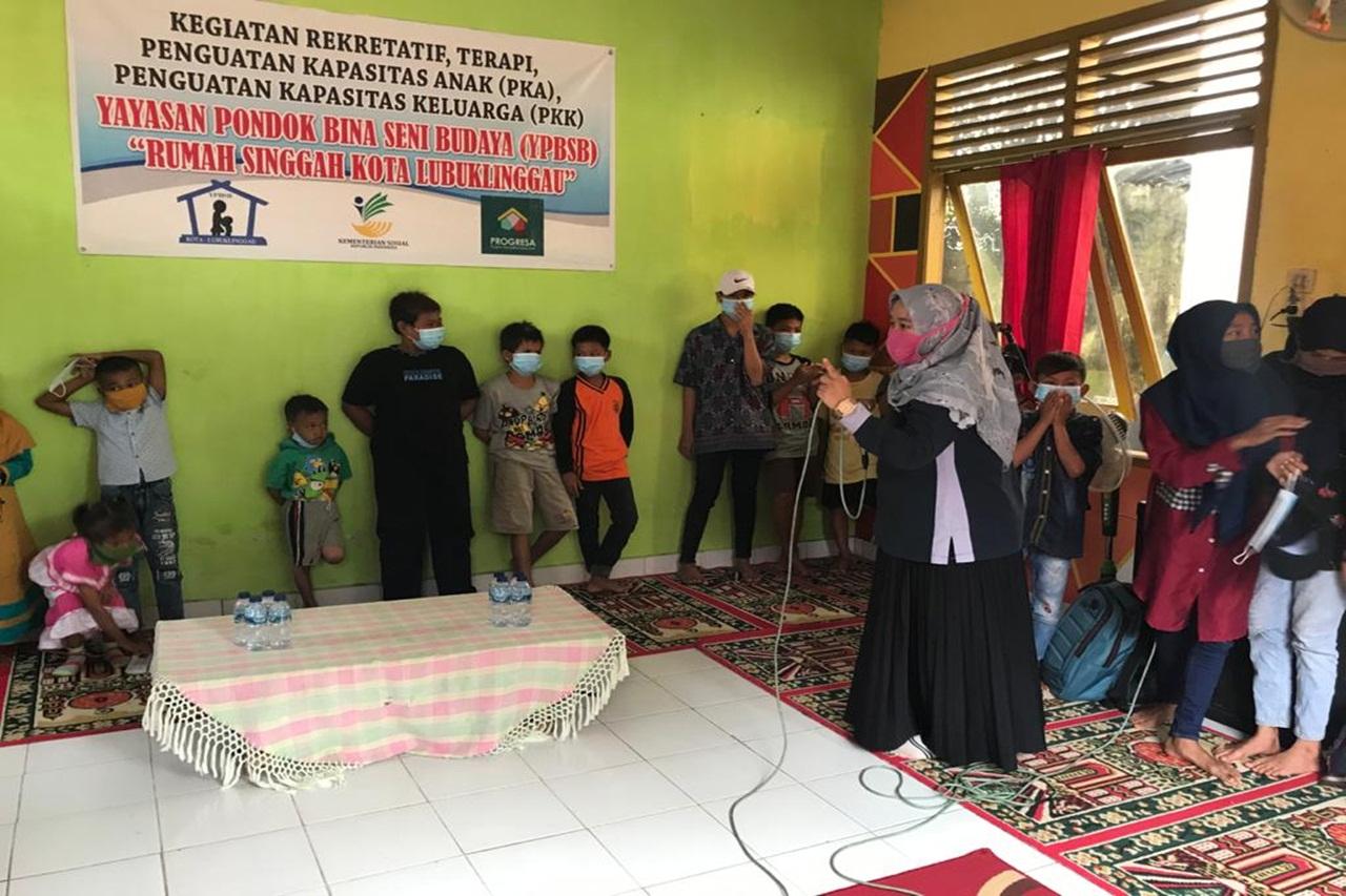 "Balai Anak ""Alyatama"" Menyapa Anak Jalanan dan Keluarga"