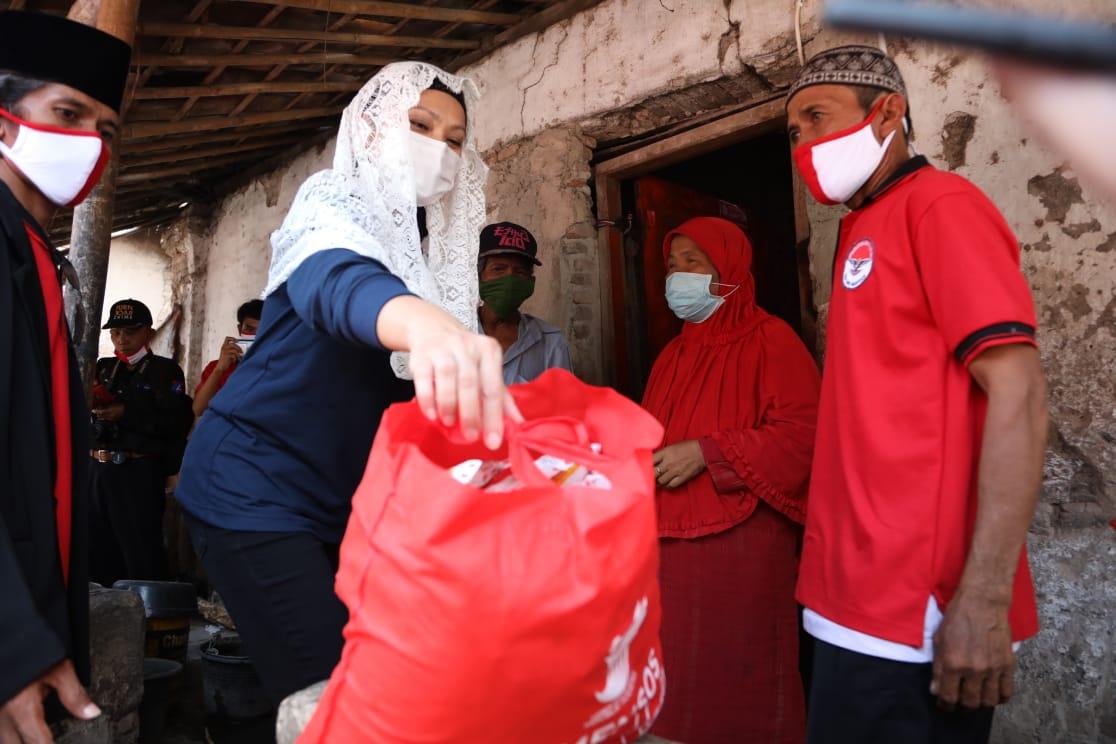 Penyaluran Bansos Sembako Kemensos di Kabupaten Serang