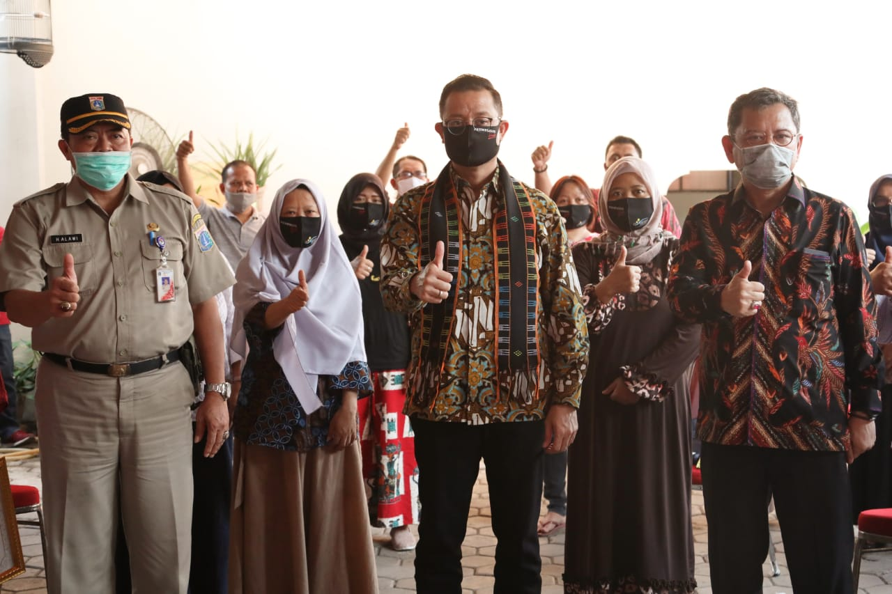 Mensos Hadiri P2K2 PKH di Jakarta Timur