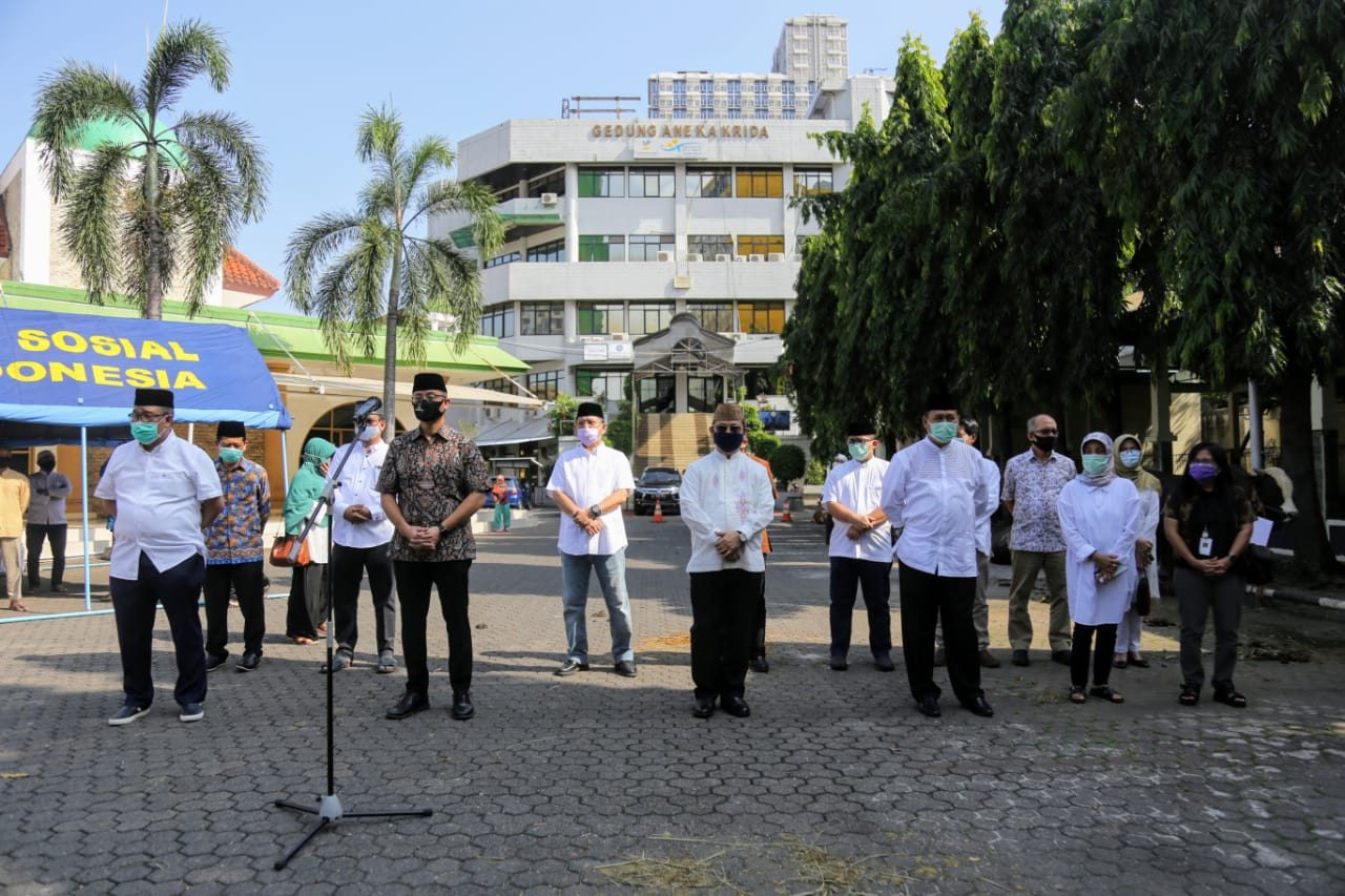 Eid al-Adha Celebration in the Ministry of Social RI Environment