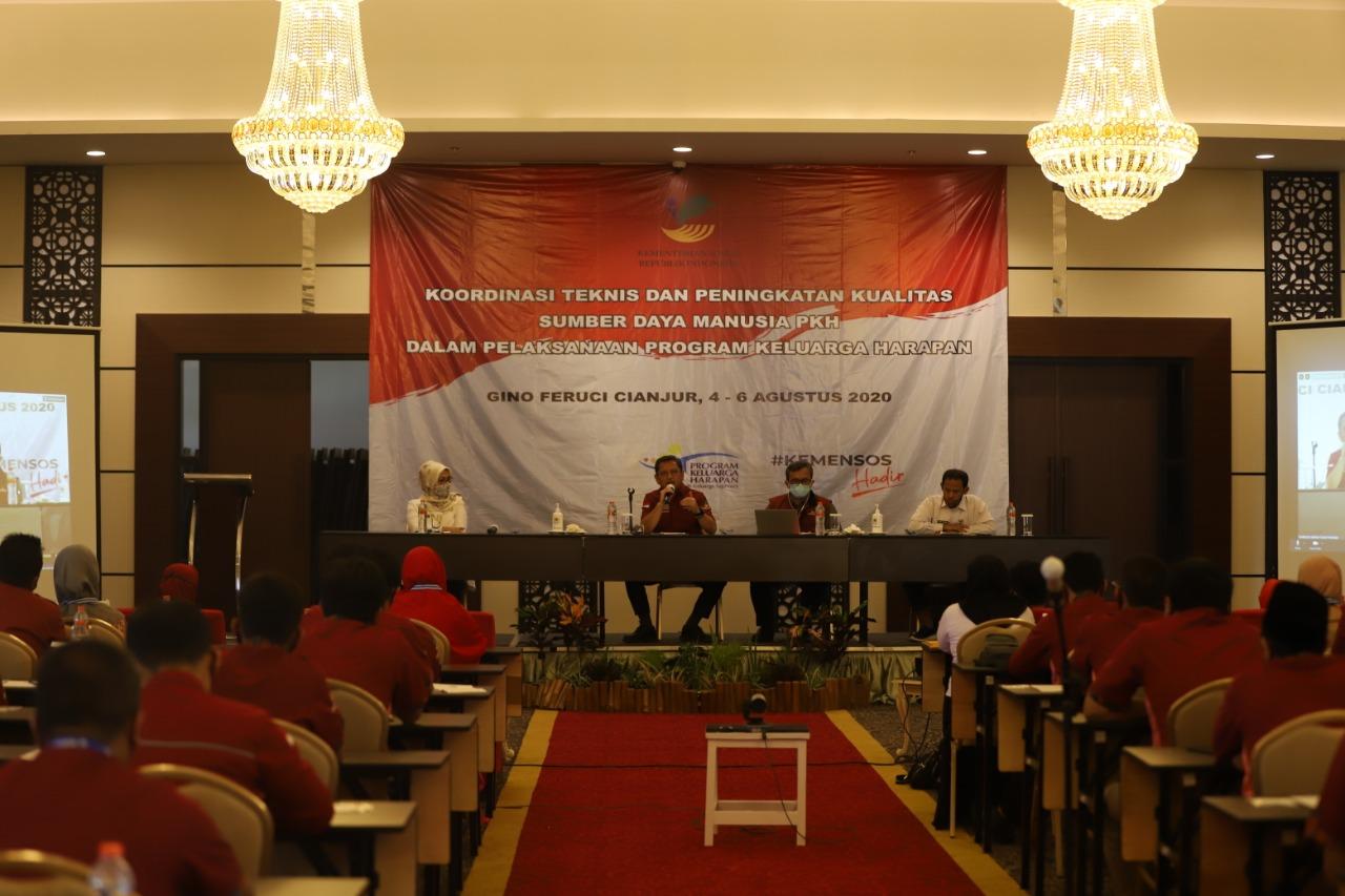 Kualitas SDM PKH se-Provinsi Jawa Barat Terus Ditingkatkan