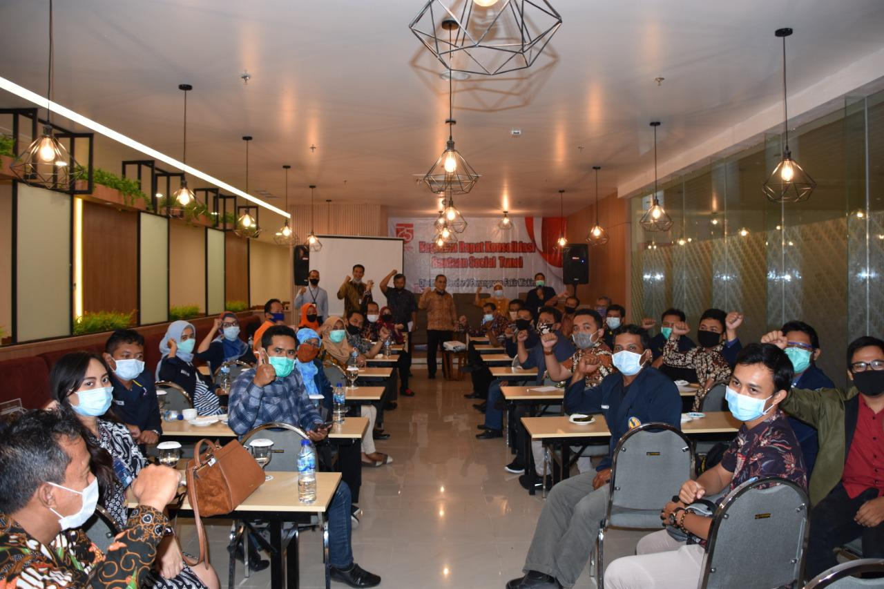 Rapat Konsolidasi Bantuan Sosial Tunai di Kabupaten Kulon Progo