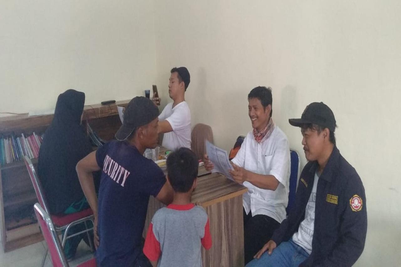 Penyaluran Bantuan Sosial Tunai di Desa Sasak, Kabupaten Tangerang