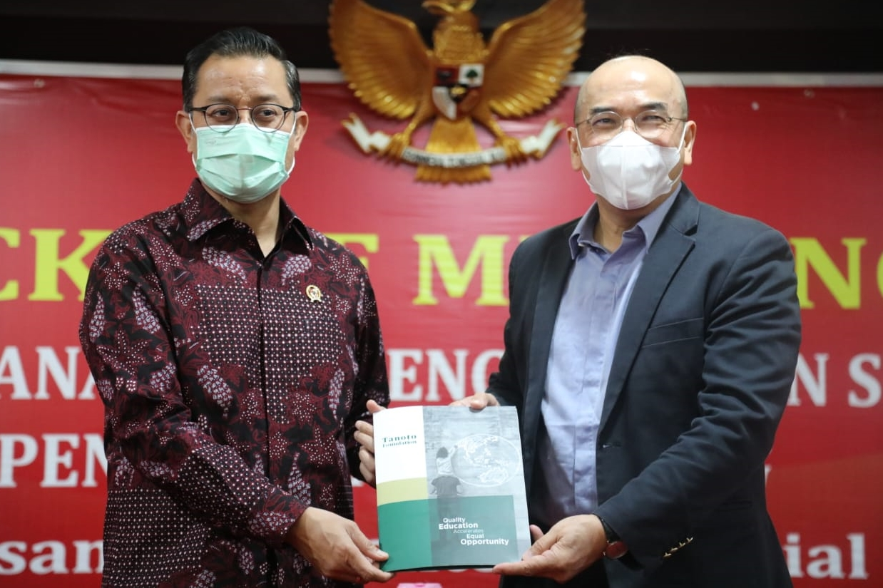 Ministry of Social Affairs and the Tanoto Foundation Collaborate to Overcome Stunting