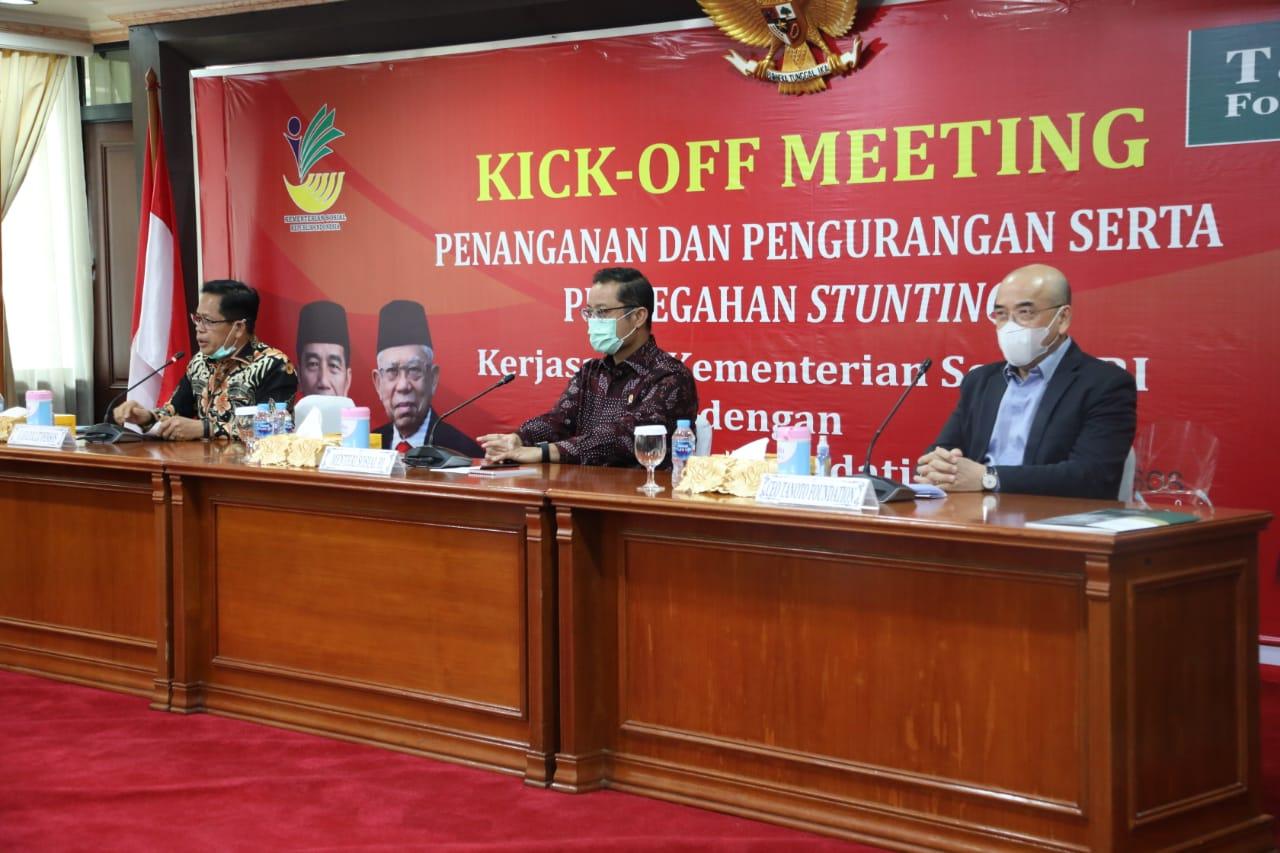 """""""Kick Off Meeting"""" Penanganan, Pengembangan dan Pencegahan Stunting"""