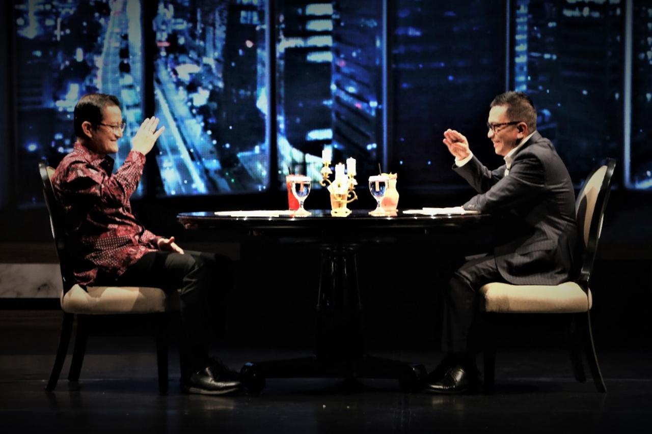 Wawancara Mensos dan Helmy Yahya di iNews TV