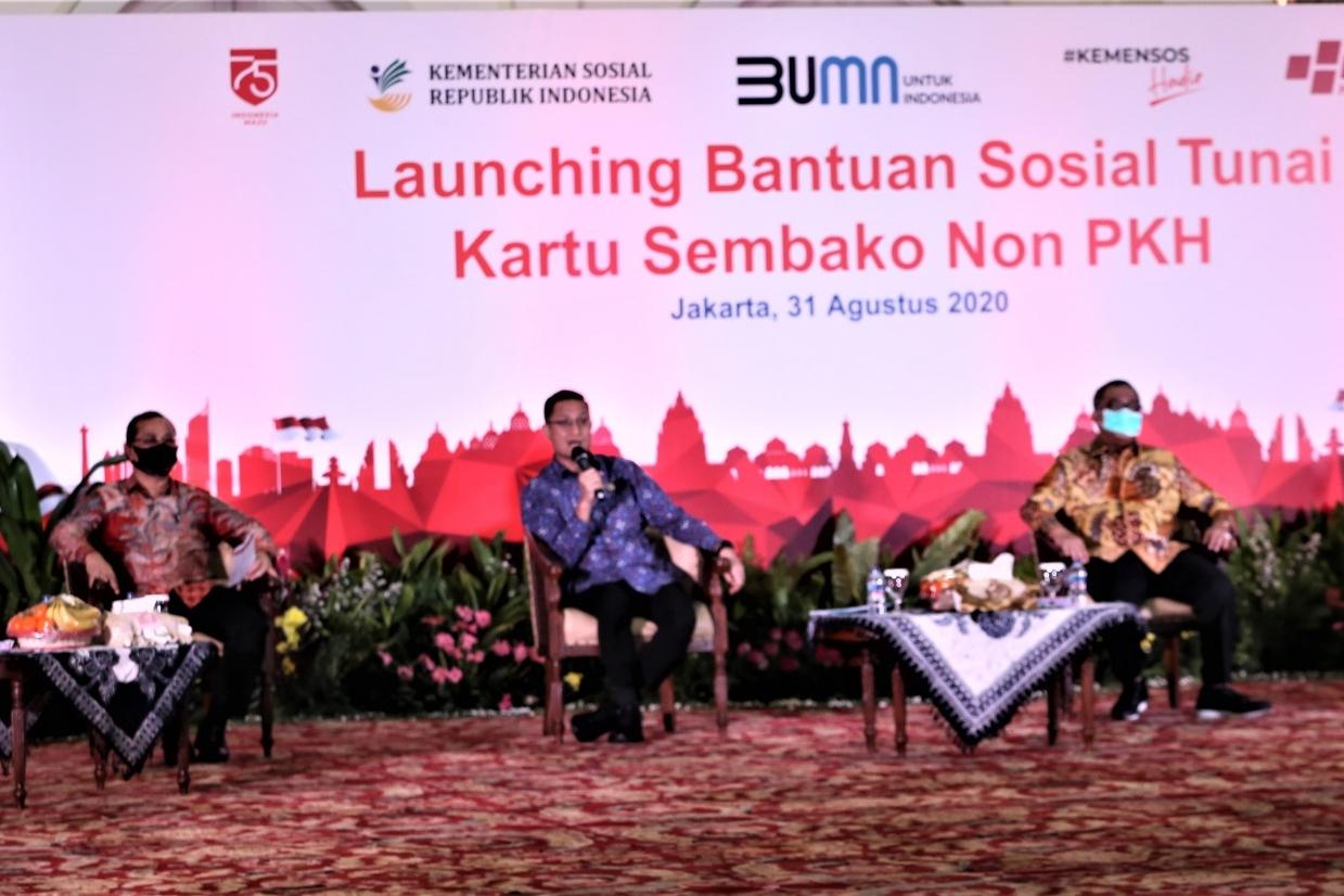 Peluncuran BST Kartu Sembako Non PKH