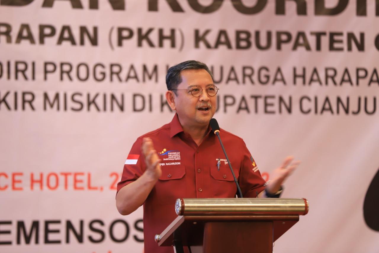 Kemensos Wisuda 12.128 KPM Graduasi dari Kabupaten Cianjur